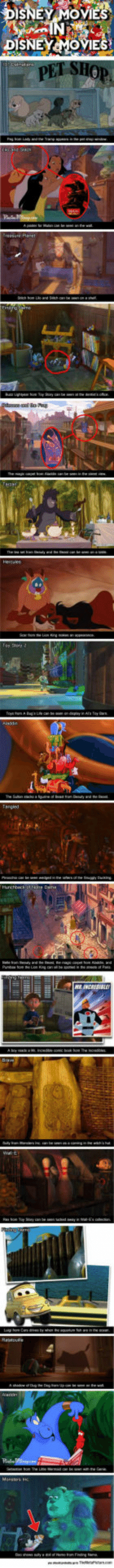 Disney, Tumblr, and Blog: SNEY MOVES  DISNEYMOVIES epicjohndoe:  Disney Films Inside Other Disney Films