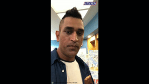 News Alert: The reason behind Dhoni's painting revealed. Before you switch your profession make sure you're not hungry. MS Dhoni Eat a Snickers. #DhoniIsBack: SNICKERS  or ma  Man 2004 News Alert: The reason behind Dhoni's painting revealed. Before you switch your profession make sure you're not hungry. MS Dhoni Eat a Snickers. #DhoniIsBack