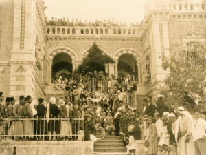 Heaven, Target, and Tumblr: sniper-at-the-gates-of-heaven:an opulent wedding in a bethlehem mansion that is now bethlehem university, 1940s.