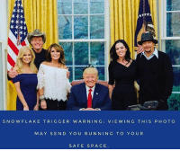 Kid Rock and Uncle Ted in the house! TRIGGERED 🇺🇸⚡️: SNO W FLAKE TRIGGER WARNING: VIE WING THIS PHOTO  MAY SEN D YOU RUIN NIN G TO YOUR  SAFE SPACE Kid Rock and Uncle Ted in the house! TRIGGERED 🇺🇸⚡️