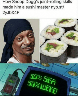 Snoop dogg sushi king by bilozaooka MORE MEMES: Snoop dogg sushi king by bilozaooka MORE MEMES