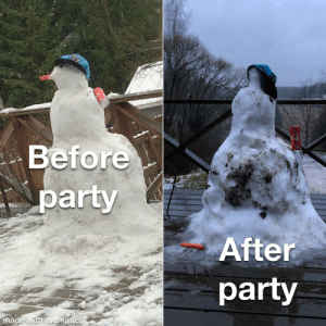 Snowman's night out: Snowman's night out