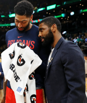 """Sources have maintained """"for months"""" that Kyrie wants to play with AD, per David Aldridge 👀: SNRdG  RADE Sources have maintained """"for months"""" that Kyrie wants to play with AD, per David Aldridge 👀"""