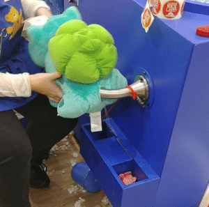 "Bulbasaur, Candy, and Cute: snugz:  kirklanddryersheet:  gimme-da-memes-b0ss: Bulbasaur was never the same after that day 🐉 Omg omg I got a bulbasaur at build a bear and I was kinda embarrassed about buying it for myself and stuff but there weren't any other kids in the store or shoppers for that matter and the girl helping me said she was glad to here it was for me as she collects some plushies and has her own bulbasaur.  Well she was almost done stuffing him and then I noticed that you can put scents in your bear and fucking love cotton candy and the girl basically car salesmen style sold me on the scent pad and asked where I wanted the scent to go And I didn't know where it should go but she herself being quite the plushie enthusiast was like ""you're gonna hug him a lot right? may I reccomend right here"" and pointed to his forehead  So I was like ""awe cute yeah that sounds good"" (my bulbasaur is totally stuffed mind you and I even had her make him extra firm )  and then the girl rolls up her sleeves and was like ""alright bulbasaur! Here we go! I apologize in advance but this is gonna look very inappropriate!""  And she fisted my super full bulbasaur all the way to her elbow saying sorry to him and to me over and over again. It took her several tries to get the scent pad in place since my bulbasaur was so stuffed and she looked like she was straining and saying ""I don't know why they didn't think about this design more, so many parents are gonna complain about this one day, I know it""   So all in all this was the best build a bear experience I've had since I was a little kid and I love my fat, cotton candy scented, anally inclined bulbasaur to pieces    Every time I see this post I cant stop fucking laughing"