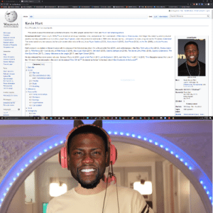 So apparently Kevin Hart was Pewds all this time...: So apparently Kevin Hart was Pewds all this time...