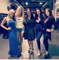 """Girls, Love, and Memes: So awesome being backstage @WWE RAW today and see everyone including my girls @torriewilson @mrs_candice_michelle , @hemmepowered & newly named by @adweek """"one of the most powerful women in sports"""" @stephaniemcmahon ! I feel so honored to know such amazing women! Love you all!! ❤️"""
