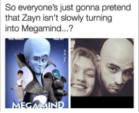 Funny, Lol, and Powerful: So everyone's just gonna pretend  that Zayn isn't slowly turning  into Megamind...?  3 As if he wasn't powerful enough already lol