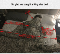 Dank, 🤖, and Leed: So glad we bought a King size bed...  RE MM  LEED