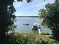 Beautiful, Friends, and Memes: So good to be back home in Mound, MN on Lake Minnetonka.  Staying at a friends house on one of the bays here.  Another beautiful summer day.  Went fishing this morning with my 13 year old son....we caught 5 bass between the two of us!  Great fun for sure!    #LakeMinnetonka #Mound #Vacation #Minnesota #Home