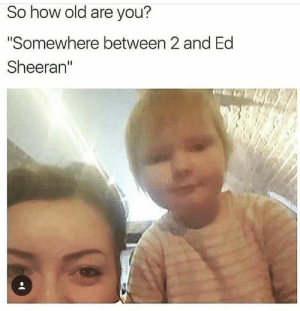 "Clearing Out The Dump - Imgur: So how old are you?  ""Somewhere between 2 and Ed  Sheeran"" Clearing Out The Dump - Imgur"