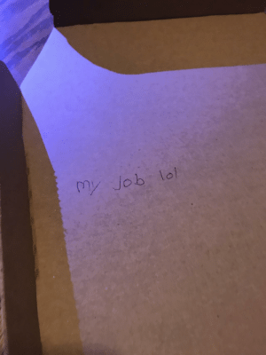 So I asked the Dominos guy to write a funny joke in the pizza box on the special description and got this: So I asked the Dominos guy to write a funny joke in the pizza box on the special description and got this