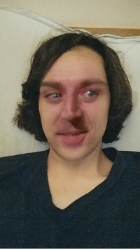 So I just faceswapped with the willy wonka meme, and that made me look like nick cage.: So I just faceswapped with the willy wonka meme, and that made me look like nick cage.