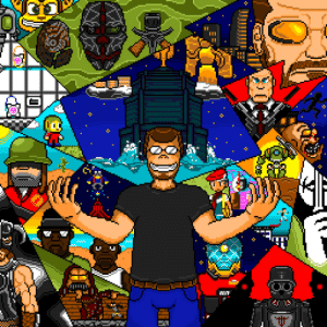 So I used the free time to create a Pixelart of myself with my favorite games of all time. Feedback would be appreciated :D: So I used the free time to create a Pixelart of myself with my favorite games of all time. Feedback would be appreciated :D