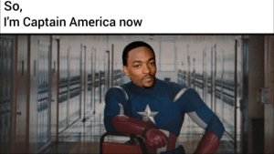 A New Captain America PSA: So,  I'm Captain America now A New Captain America PSA