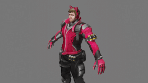 So I'm Working on a Pewds Model based on Overwatch's Soldier76 for an animation; so far, so good!: So I'm Working on a Pewds Model based on Overwatch's Soldier76 for an animation; so far, so good!