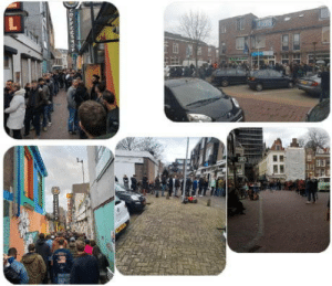 So in the Netherlands as off march 15th, everything that has to do with the catering industry will be closed until april 6th, including coffeeshops. So while everyone in the world is busy buying toilet paper, Dutch people stood in line for marijuana.: So in the Netherlands as off march 15th, everything that has to do with the catering industry will be closed until april 6th, including coffeeshops. So while everyone in the world is busy buying toilet paper, Dutch people stood in line for marijuana.