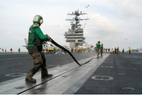 Navy, Seal, and Navy Seal: So is a rubber gasket on a aircraft carrier considered a Navy seal?