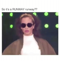 Funny, Break, and Gonna: So it's a RUNWAY runway?? Somebody gonna break their Neck neck.. funniest15 viralcypher funniest15seconds