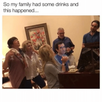 Family, Memes, and Twitter: So my family had some drinks and  this happened That face kills me 😂 Credit: Grossmanmax-Twitter • • • Become BVIP