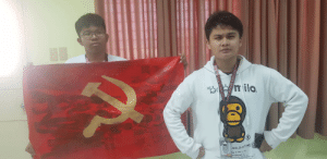 So my school just hosted a Capture The Flag game and the setting for the game is going to be in the woods, so we made a communist flag for the heck of it. I doubt anyone would want to steal our flag once we wear our communist costumes and sing the USSR anthem all day long.: So my school just hosted a Capture The Flag game and the setting for the game is going to be in the woods, so we made a communist flag for the heck of it. I doubt anyone would want to steal our flag once we wear our communist costumes and sing the USSR anthem all day long.
