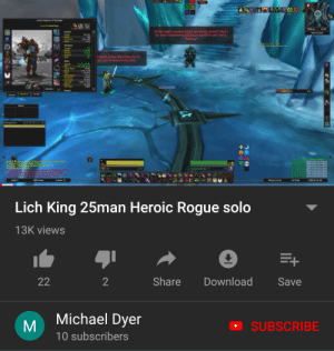 Night King's death in a nutshell: So the Light's vinted justice s finally artived? S  ay down Frostmoume and thro mysef at your mercy  Fordring  see/ep  t death, Arthay Mare than can be  nds you we torted and slain  h  11  Lich King 25man Heroic Rogue solo  13K views  Share  22  2  Download  Save  Michael Dyer  SUBSCRIBE  10 subscribers  KIEE Night King's death in a nutshell