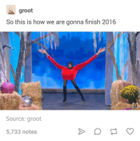 buzzfeeds video about women manspreading is so stupid: So this is how we are gonna finish 2016  Source: groot  5,733 notes buzzfeeds video about women manspreading is so stupid