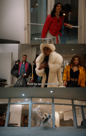 filmsby:  Pose Season 1 Episode 1: SO  We re locked in   llook too good not to be seen filmsby:  Pose Season 1 Episode 1