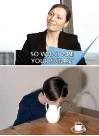 What, What Are, and Am I: SO WHAT ARE  YOUR SKILLS? Am i hired?