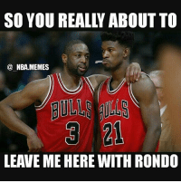 Be Like, Chicago, and Friends: SO YOU REALLY ABOUT TO  @ NBA.MEMES  LEAVE ME HERE WITH RONDO Dwade be like 😂😂 he regretting accepting that player option now but at least he's making $23.8 mil next season 😨💸 Chicago went into last year with a low key big 3 of Rondo, Wade, & Butler but the season just didn't go the way they wanted it to 😳 How will Chicago do next year?? Comment below a predicted record 👌 Double tap and tag some friends below! 👍⬇