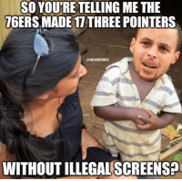 Sixers went off from deep. ... sixers 76ers philly philadelphia nba meme memes steph stephen curry stephcurry stephencurry three splash 3 💦 nbamemes warriors: SO YOU'RE TELLING ME THE  76ERS MADE 17 THREE POINTERS  @NBAMEMES  WITHOUT ILLEGAL SCREENSE Sixers went off from deep. ... sixers 76ers philly philadelphia nba meme memes steph stephen curry stephcurry stephencurry three splash 3 💦 nbamemes warriors