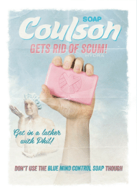 Control, Blue, and Mind: SOAP  Coulsoh  GETS RID OF SCUME  HYDRA  Getia lather  ith Phil  DON'T USE THE BLUE MIND CONTROL SOAP THOUGH <p>This is EVERYTHING! 😂💖</p>