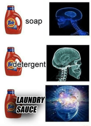 Laundry, Sauce, and Soap: Soap  detergent  LAUNDRY  SAUCE