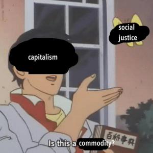 Capitalism, Justice, and Social Justice: social  justice  capitalism  Is this a commodity?