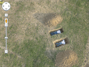 Target, Tumblr, and Blog: social-justin-warrior:  bananahomo:  csevet:  thespiandipper:  allthemuches: 2 dudes, chillin in open graves, 5 feet apart cause they're not gay  This is actually an art piece by Miller  Shellabarger where they dug graves connected by a tunnel so they could hold hands. They are very much gay and irl married  they are in fact married for real  out of all the explanations, two gay husbands making a gay art piece was defiantly not on my list   two dudes, chillin in open graves, holding hands through a tunnel cuz they are gay
