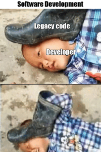 Legacy, Software, and Code: Software Development  Legacy code  Developer Legacy code