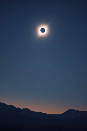 Argentina, Eclipse, and San: Solar Eclipse yesterday in San Juan, Argentina.