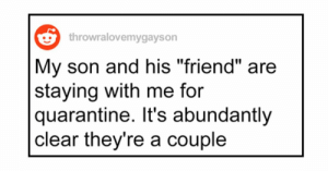 """soldiersrosesandbearsohmy:  leaddusthands:  positive-memes:    Dad Asks People Online How to Tell His Son It's Okay That He Has a Boyfriend, Posts Wholesome Update  full wholesome story here…   This is so wholesome 💕   This man is doing fatherhood right. It is a shame that """"coming out"""" still has to be a thing and people can't just bring home their partner without fear: soldiersrosesandbearsohmy:  leaddusthands:  positive-memes:    Dad Asks People Online How to Tell His Son It's Okay That He Has a Boyfriend, Posts Wholesome Update  full wholesome story here…   This is so wholesome 💕   This man is doing fatherhood right. It is a shame that """"coming out"""" still has to be a thing and people can't just bring home their partner without fear"""