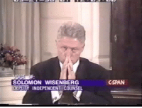 Bill Clinton, Memes, and Power: SOLOMON WISENBERG  DEPUTY INDEPENDENT COUNSEL  GSPAN Bill Clinton, once the most powerful man in the world, admits to taking advantage of an UNPAID INTERN. Where is the feminist outrage?