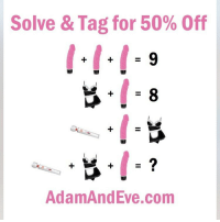 Guys use my code for 50% off all sex toys omg!!! Do it 💦💦💦 Get 50% off almost any item & FREE U.S.-Canadian Shipping by using offer code REALITY @AdamandEve's Website (in bio). 18+ Only 😩🍆: Solve & Tag for 50% Off  AdamAndEve.com Guys use my code for 50% off all sex toys omg!!! Do it 💦💦💦 Get 50% off almost any item & FREE U.S.-Canadian Shipping by using offer code REALITY @AdamandEve's Website (in bio). 18+ Only 😩🍆