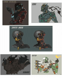 Overwatch art collection 2 of Ching Yeh . . 🖌 Artist: Ching Yeh on Artstation 🖌 ⚠ DM me to have your art removed ⚠ . . . overwatch owfam3: SOMBRA MECHALORD  LENYATTA UNDEAD  REINHARDT  GENUI  BASTION Overwatch art collection 2 of Ching Yeh . . 🖌 Artist: Ching Yeh on Artstation 🖌 ⚠ DM me to have your art removed ⚠ . . . overwatch owfam3