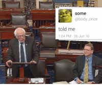"<p>Bernie senate tweet memes set to rise rapidly! Invest now! via /r/MemeEconomy <a href=""http://ift.tt/2iG1L6A"">http://ift.tt/2iG1L6A</a></p>: some  @body_once  told me  1:04 PM 26 Jun 16  e0 <p>Bernie senate tweet memes set to rise rapidly! Invest now! via /r/MemeEconomy <a href=""http://ift.tt/2iG1L6A"">http://ift.tt/2iG1L6A</a></p>"