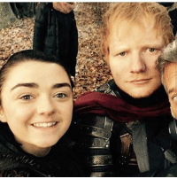 Some infuriating news, Ed Sheeran deleted his twitter account because of hate that he was receiving from the GoT fandom. His cameo was supposed to be a surprise for Maisie by the producers as Maisie herself is a big fan of Ed, but sadly something so positive has turned into such a negative thing😓: Some infuriating news, Ed Sheeran deleted his twitter account because of hate that he was receiving from the GoT fandom. His cameo was supposed to be a surprise for Maisie by the producers as Maisie herself is a big fan of Ed, but sadly something so positive has turned into such a negative thing😓
