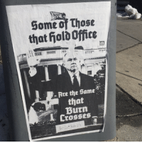 Spotted in DC.  H/T The District Sentinel News Co-op: Some of Those  that fiolo Office  Are the Same  that  Crosses Spotted in DC.  H/T The District Sentinel News Co-op