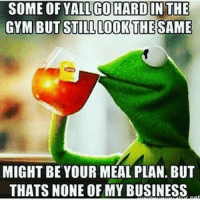 Gym, Business, and New Release: SOME OF YALLGO HARDIN THE  GYM BUT STILL LOOR THE SAME  MIGHT BE YOUR MEAL PLAN. BUT  THATS NONE OFMY BUSINESS 🐸☕️ . @DOYOUEVEN 👈🏼 [NEW RELEASE] + 10% OFF STOREWIDE 🎉🎊 USE CODE 'DYE10' ✔️