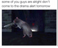 Some Of You Guys Are Alright: some of you guys are alright don't  come to the drama alert tomorrow