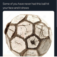 Never, Hood, and Who: Some of you have never had this ball hit  your face and it shows Those who know..😂💯
