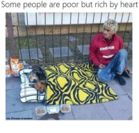 Reebok, Heart, and House: Some people are poor but rich by heart  Reebok  via @house.of leaders Happysad via /r/wholesomememes https://ift.tt/2PatN7Y