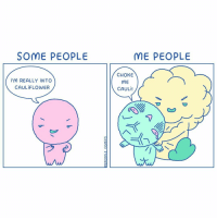 Sorry not sorry. (By @mepeople_comics) . . . . . . . . . comics cauliflower chokemedaddy: SOME PEOPLE  ME PEOPLE  İ'M REALLY İNTO  CAULİFLOWER  CHOKE  ME  CAULİ! Sorry not sorry. (By @mepeople_comics) . . . . . . . . . comics cauliflower chokemedaddy