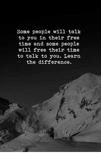 Free, Time, and Will: Some people will talk  to you in their free  time and some people  will free their time  to talk to you. Learn  the difference.  4%
