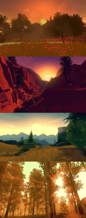 Some pictures I snapped in Firewatch. People who claim video games are not an art form are clearly in the wrong.: Some pictures I snapped in Firewatch. People who claim video games are not an art form are clearly in the wrong.